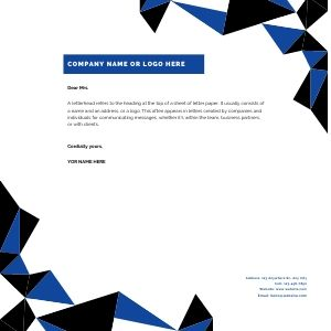What To Include In Your Company Letterhead The Wide Format Company