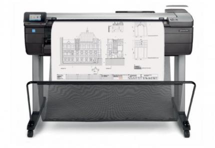 HP Designjet T830 eMFP with Rugged Case
