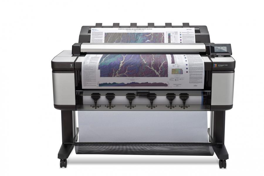 HP Designjet T3500 Production eMFP w/ Encrypted Hard Disk - 3 Year Warranty