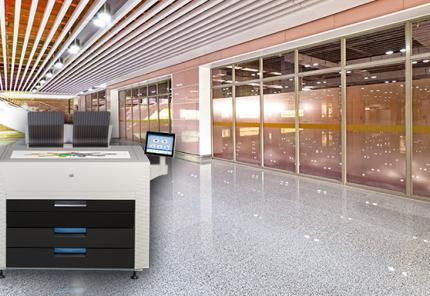 KIP 870 Multi-Touch Production Color Print System