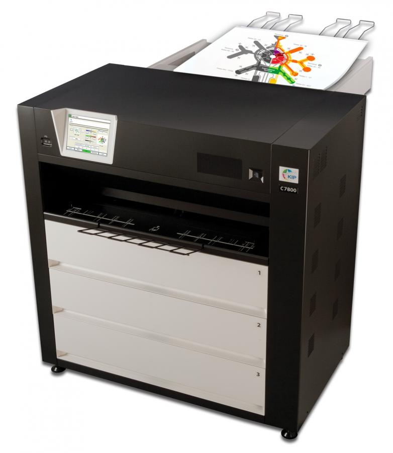 KIP C7800 Wide Format Color Printer