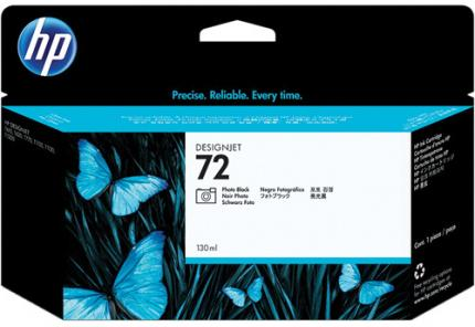 HP 72 Photo Black Ink Cartridge (130 ml) - C9370A