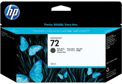 HP 72 Matte Black Ink Cartridge (130 ml) - C9403A