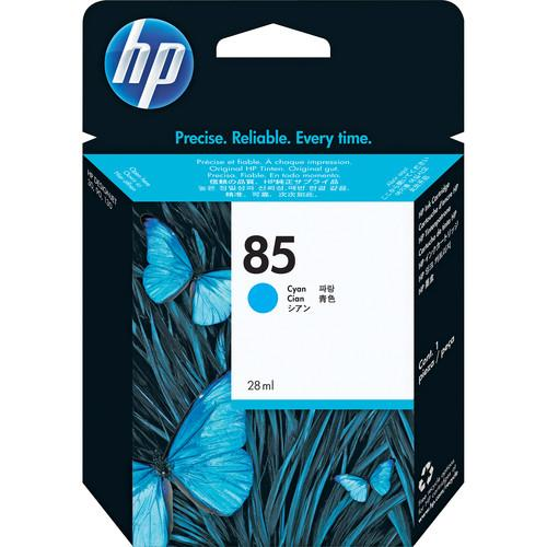 HP 85 28-ml Cyan DesignJet Ink Cartridge - C9425A