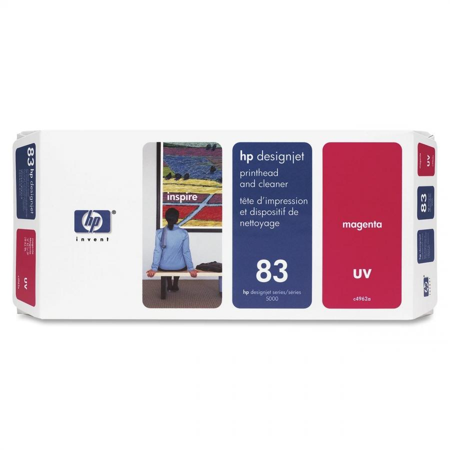 HP 83 UV Magenta Printhead & Cleaner - C4962A