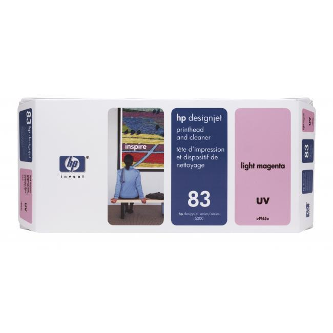 HP 83 UV Light Magenta Printhead & Cleaner - C4965A
