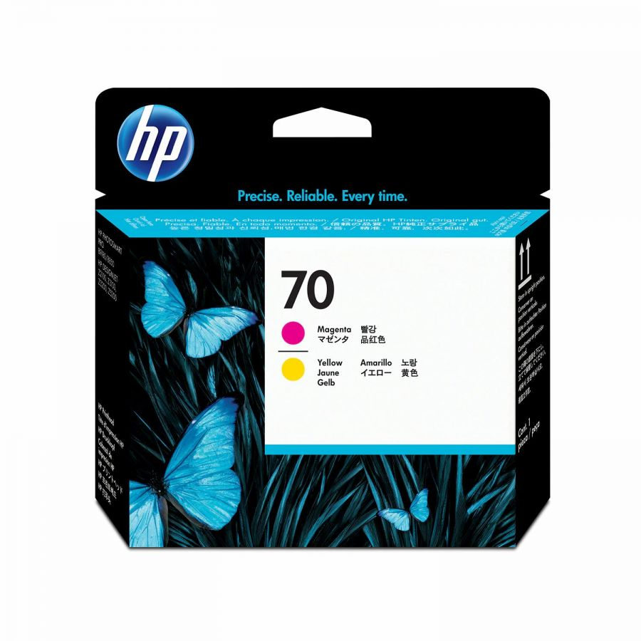 HP 70 Magenta and Yellow DesignJet Printhead - C9406A