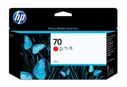 HP 70 Red Ink Cartridge - C9456A