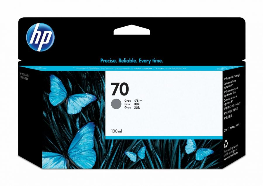 HP 70 Gray Ink Cartridge - C9450A