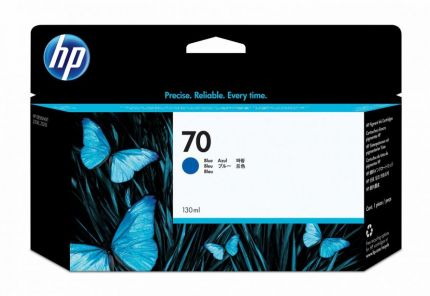HP 70 130-ml Blue DesignJet Ink Cartridge - C9458A