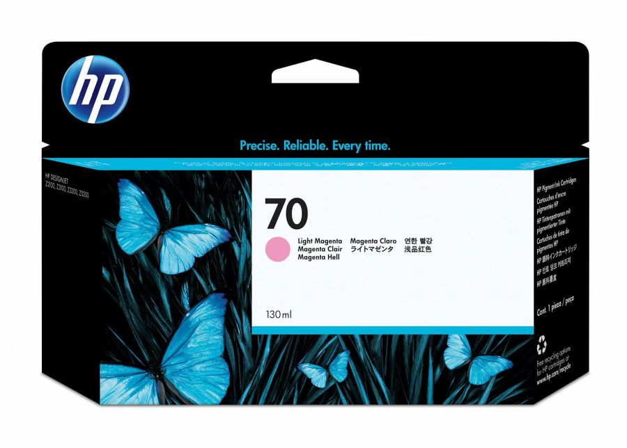 HP 70 Light Magenta Ink Cartridge - C9455A