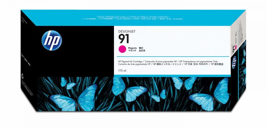 HP 91 Magenta Ink Cartridge - C9468A