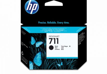 HP 711 Black Ink Cartridge - CZ133A