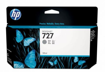 HP 727 130-ml Gray Ink Cartridge - B3P24A