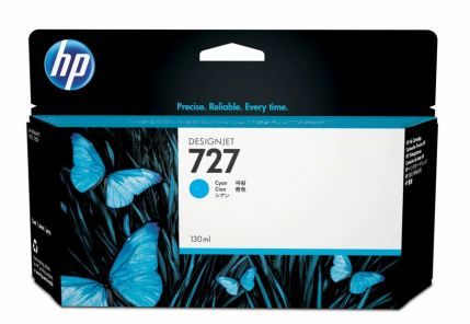 HP 727 130-ml Cyan Ink Cartridge - B3P19A