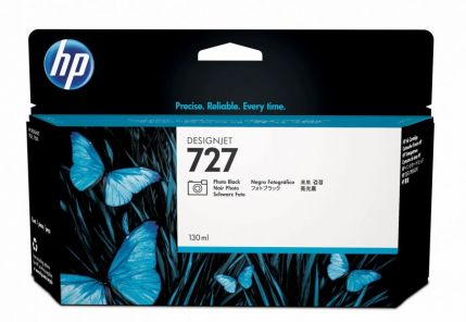 HP 727 130-ml Photo Black Ink Cartridge - B3P23A
