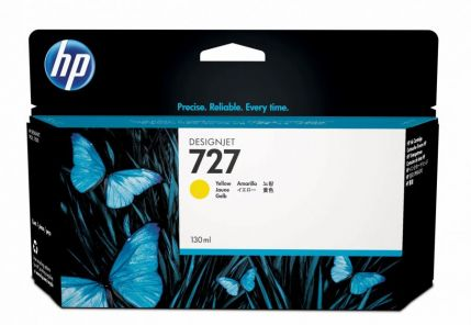HP 727 130-ml Yellow Ink Cartridge - B3P21A