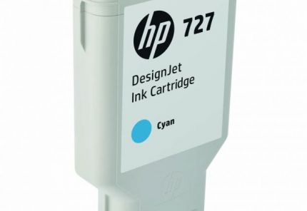 HP 727 300-ml Cyan DesignJet Ink Cartridge - F9J76A