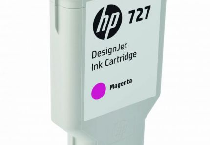 HP 727 300-ml Magenta DesignJet Ink Cartridge - F9J77A