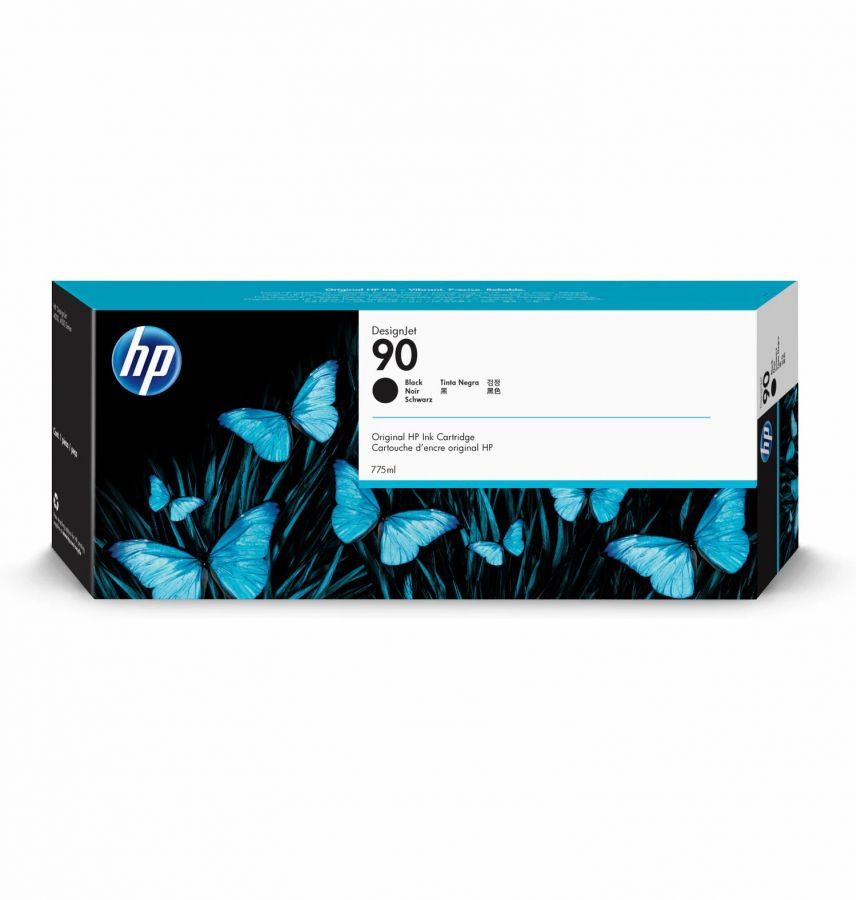 HP 90 Black Ink Cartridge (775 ml) - C5059A