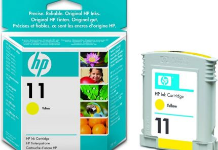 HP 11 Yellow Ink Cartridge (28 ml) - C4838A