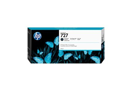 HP 727 300-ml Matte Black Ink Cartridge - C1Q12A