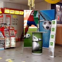 More pop up and roll up displays